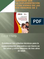 2.- Etapa Niño 22-Mayo Suple. Preventiva Hierro