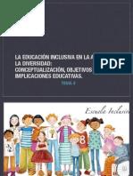 TEMA 4. Ed.inclusiva