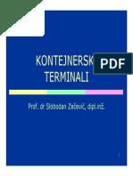 Intermodalni_transport - Kontejnerski Terminali