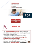 Biopharmaceutical and Cell Therapy Products