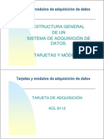 Estructura General Tarjetas y Modulos 2013