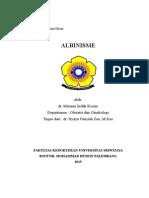 Cover Albinisme