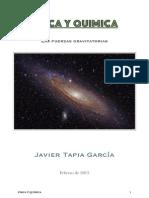 FISICA Y QUÍMICA las fuerzas gravitatorias