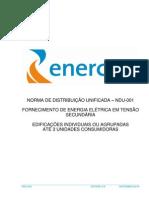 NDU 001 - Enersul/Energisa