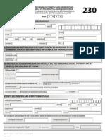 Formular 230 Fddpo 2013