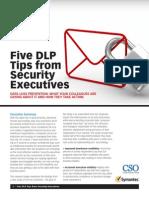 5 DLP Tips From Security Execs