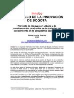 Bogotá 2025 - 2038. Innobo y El Anillo de La Innovación de Bogotá. Jaime Acosta