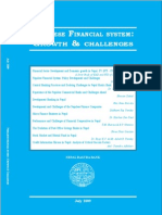 Special Publications--Nepalese Financial System Growth and Challenges (July 2009)-NEW