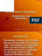 introduction to marketing lecture and discussion, mba and ba.ppt