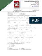 Complex Numbers Practice Sheet