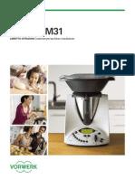 Instruction Manual Tm31 Italiano