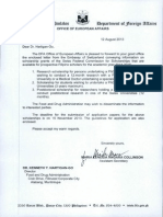 Dfa - Office of European Affairs