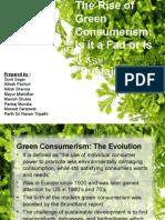 Green Consumerism Ppt