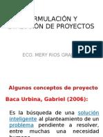 Formulación y Evalución de Proyectos II