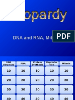 jeopardy- dna rna and mitosis