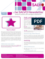 SALVO Newsletter Mar 15