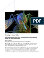 Nat Geo Magazine on Malaria