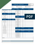 Check List de Vehículos