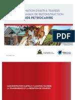 Bilan PetroCaribe  pour la période de mai 2011 à novembre 2014