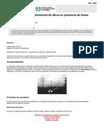 NTP 072 Trabajos Con Elementos de Altura en Presencia de Líneas Eléctricas Aéreas (PDF, 484 Kbytes)