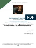 Flacso_entrevista-3 Ministra