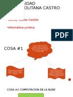Presentación informática jurídica