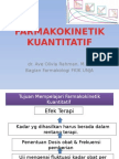 FARMAKOKINETIK-kuantitatif