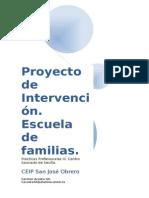 Proyecto de Intervención Escuela de Familias