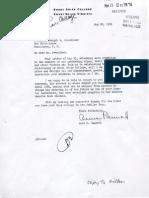 Sweet Briar College President Correspondence with President Eisenhower