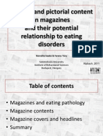 Magazine reading and eating disorders