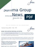 Summa Group News - Feb PT3