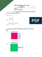 Ficha de Trabalho Polinomios e Casos Notav