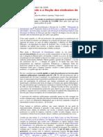 Portugal Profundo - O Memorando e a Moção dos sindicatos de professores