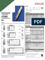 Attenuator Type SR