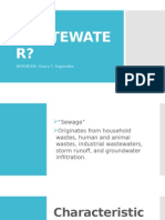 Wastewater report