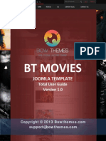 BT Movies User Manual v1.0