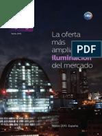 201503 Philips Tarifa Alumbrado 2015