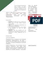 Ficha de La Consar