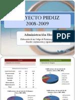 Administración Electrónica competencias y conocimientos 2006-2009 [Recuperado]