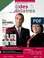 Solides Et Solidaires Canton de Paimpol 16 Pages Pour Un Projet Local Et Départemental