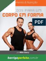 Segredos Para Um Corpo Em Forma- Dicas de Emagrecimento e Ganho de Massa Muscular