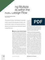 Optimizing Multiple EDA Tools Within the ASIC Design Flow