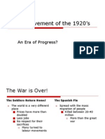 2 10 social movements in the 1920's