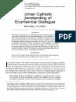 Catholic Understanding of Ecumenism