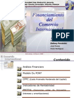 Financiamiento Comercio Internacional