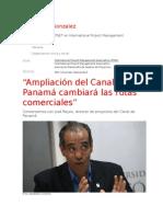 Ampliación Del Canal de Panamá Cambiará Las Rutas Comerciales