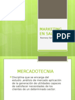 Marketing en Salud