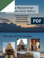 Raja Mariamman Temple Johor Bahru