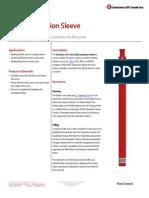 ELWE Separation Sleeve Technical Datasheet