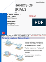 Torsion Mechanics of Material